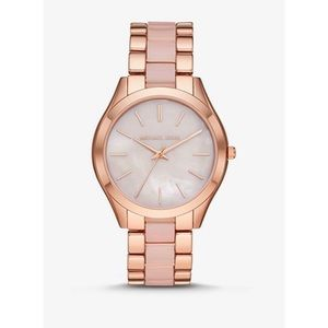 Micheal kors pink watch